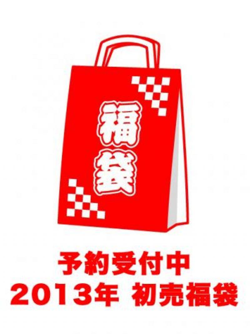 2013福袋予約受付中! 2012-12-27 2013福袋予約受付中! 2013 ONE AN