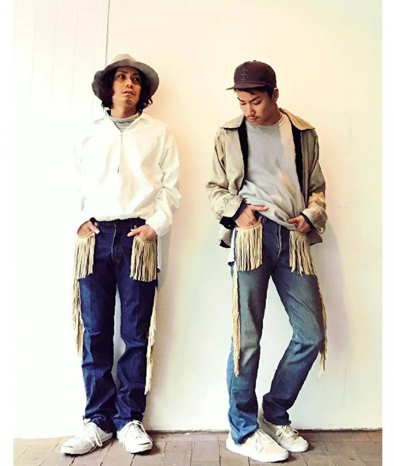 children of the discordance(チルドレンオブザディスコーダンス) FRINGE DENIM PANTS COTDPT-008入荷!