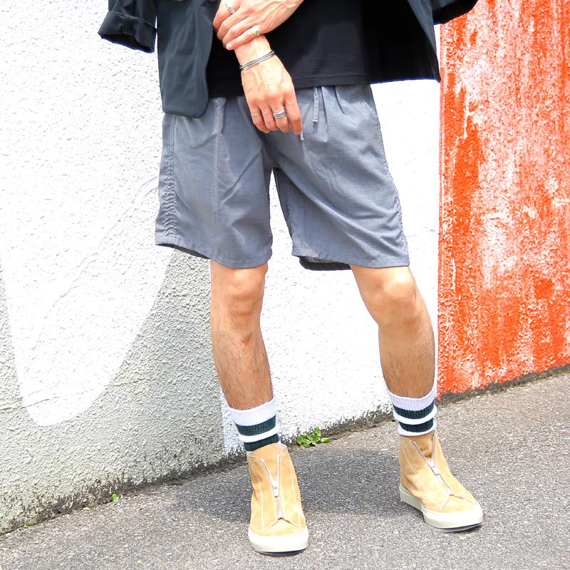 【 nonnative / FARMER EASY SHORTS W/P TROPICAL STRETCH 】