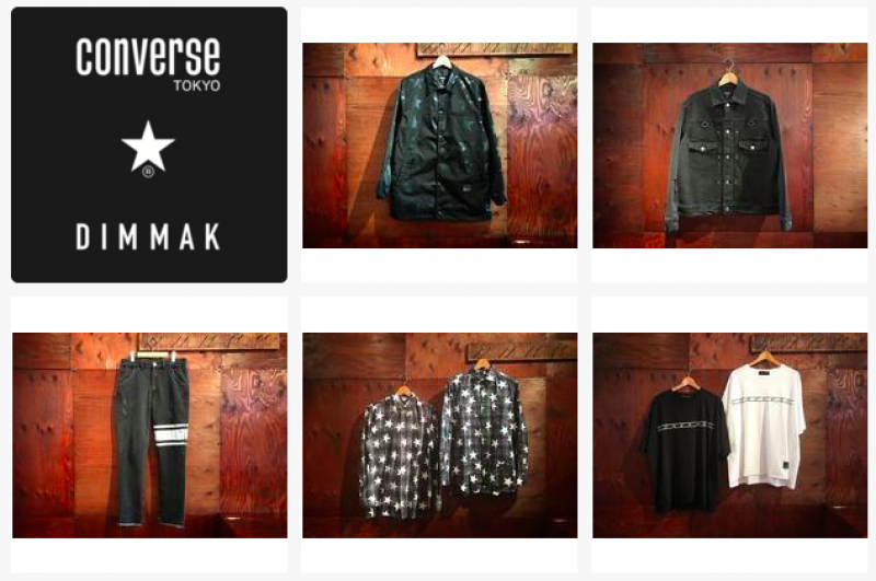converse TOKYO × DIM MAK - New Collection Start.