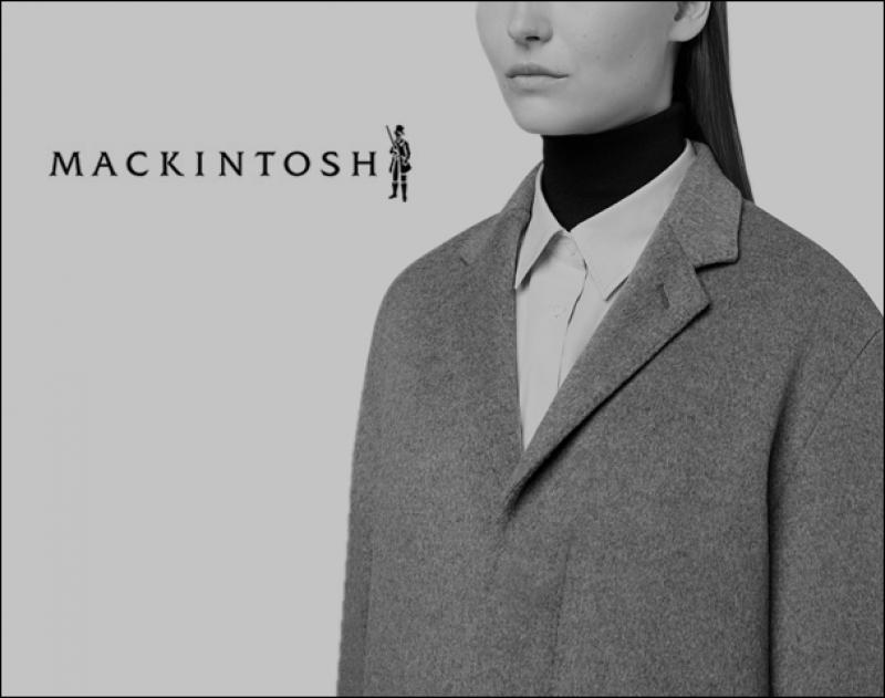 "MACKINTOSH / 新作アイテム入荷""FLY FRONT TAILORED COLLAR COAT"""