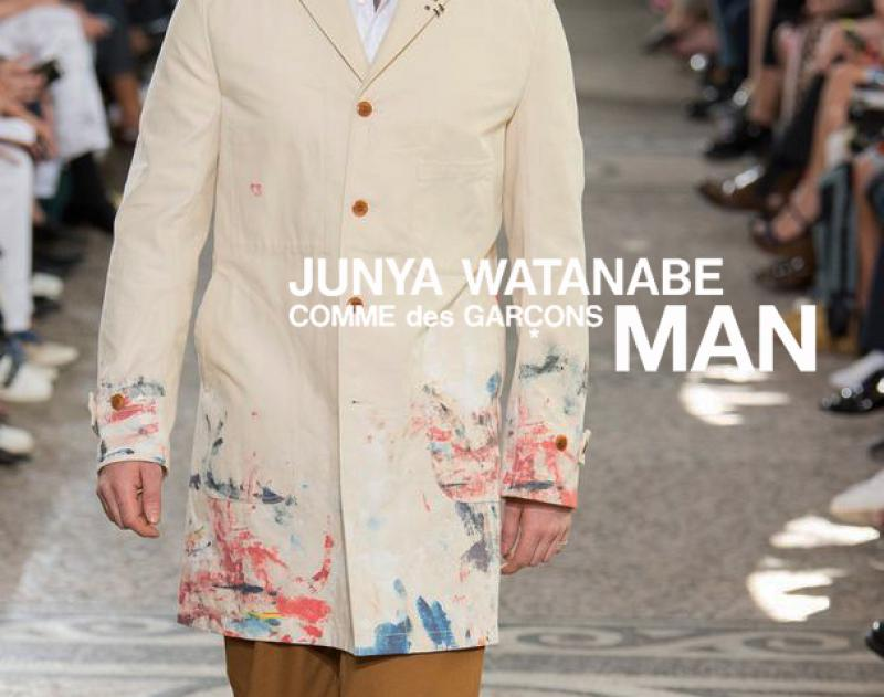 "JUNYAWATANABE COMMEdesGARCONS MAN / 新着アイテム""hand paint coat"" and more"