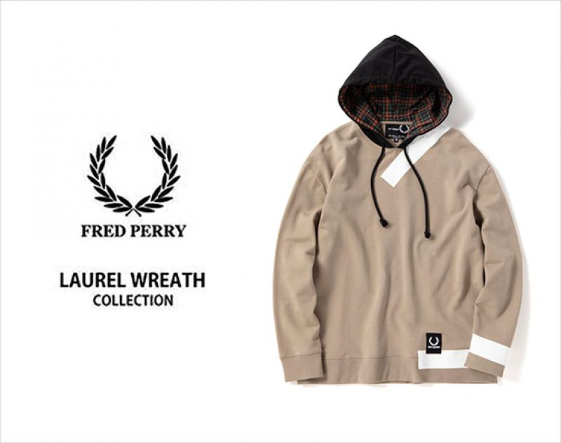 "FRED PERRY LAUREL WREATH COLLECTION / 新作アイテム入荷 ""RAF SIMONS TAPE DETAIL HOODED SWEAT""andmore"