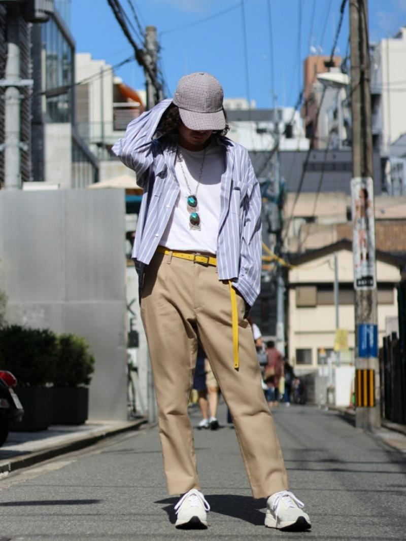 KIIT(キート) COTTON W CLOTH TAPERED PANTS KIF-P99-004入荷!