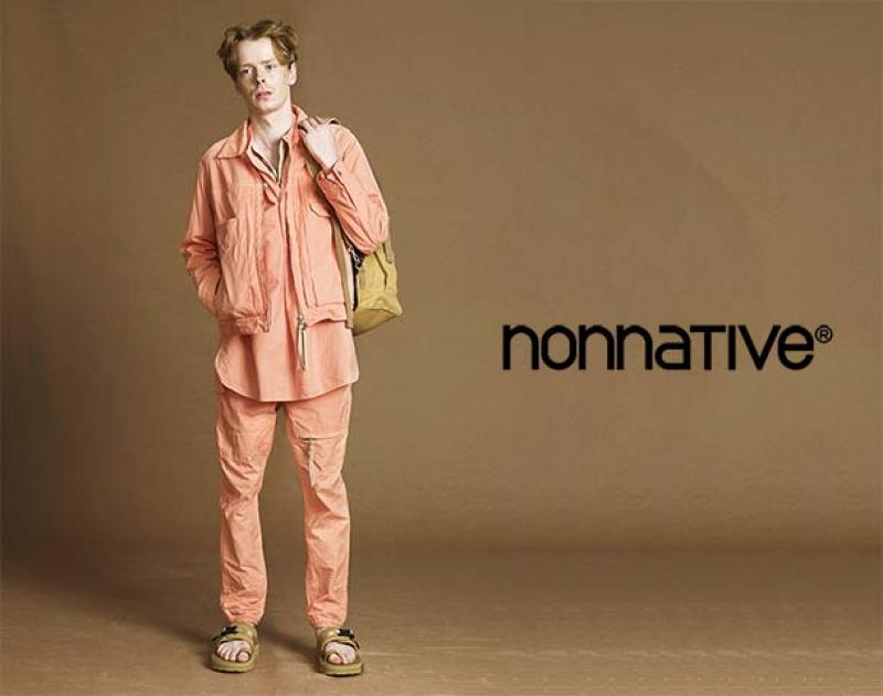 "nonnative / 新作アイテム入荷 ""WORKER JACKET COTTON OXFORD OVERDYED""andmore"