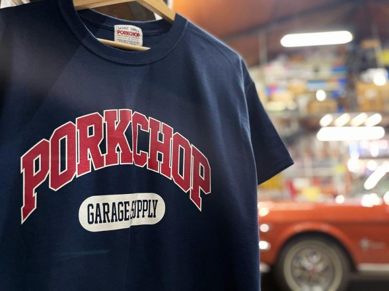 PORKCHOP / COLLEGE TEE.2nd Oval STICKER.CHOPPERS WELCOME STICKER 販売開始致しました。